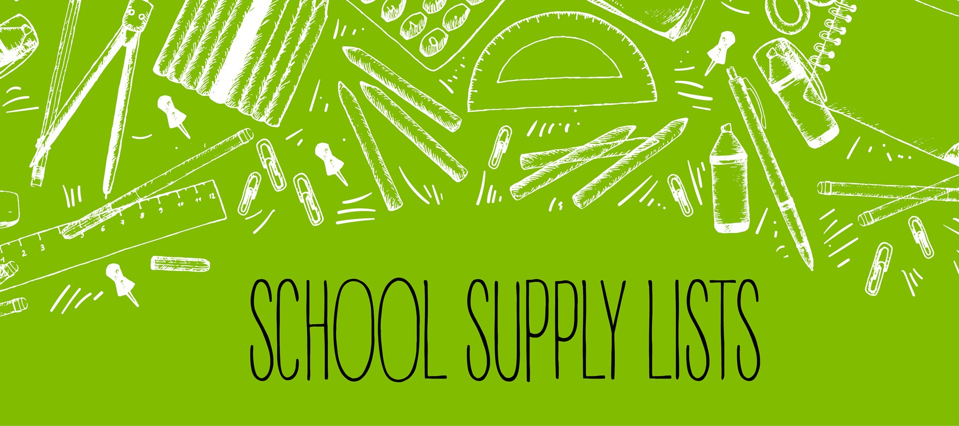 Brownell School Supply List