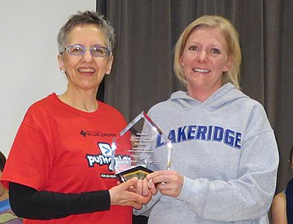 Lakeridge School award presentation